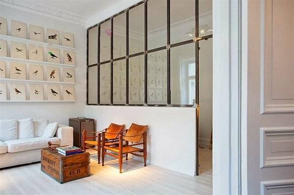 l 39 apport de lumi re dans une pi ce aveugle. Black Bedroom Furniture Sets. Home Design Ideas